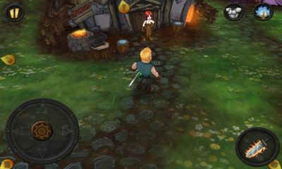 Screenshots of the DevilDark: The Fallen Kingdom for Android tablet, phone.