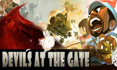 Screenshots of the Devils at the Gate for Android tablet, phone.
