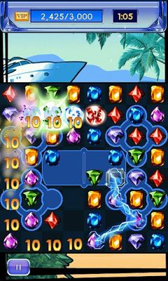 Screenshots of the Diamond Twister 2 for Android tablet, phone.