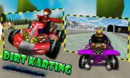 In addition to the game FIFA 12 for Android phones and tablets, you can also download Dirt Karting for free.