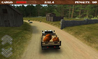 Screenshots of the Dirt Road Trucker 3D for Android tablet, phone.