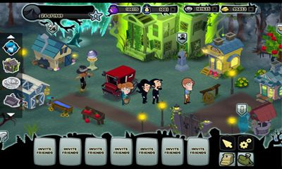 Screenshots of the Disney's Ghosts of Mistwood for Android tablet, phone.