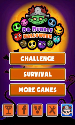 Screenshots of the Doctor Bubble Halloween for Android tablet, phone.