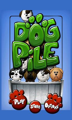 Screenshots of the Dog Pile for Android tablet, phone.