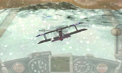 Screenshots of the Dogfight for Android tablet, phone.