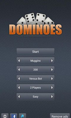 Screenshots of the Dominoes for Android tablet, phone.