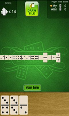 Screenshots of the Dominoes Deluxe for Android tablet, phone.
