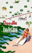 In addition to the game Bike Race for Android phones and tablets, you can also download Doodle Invasion for free.