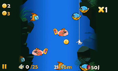 Screenshots of the Doraemon Fishing 2 for Android tablet, phone.