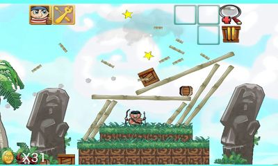 Screenshots of the Down With The Ship for Android tablet, phone.