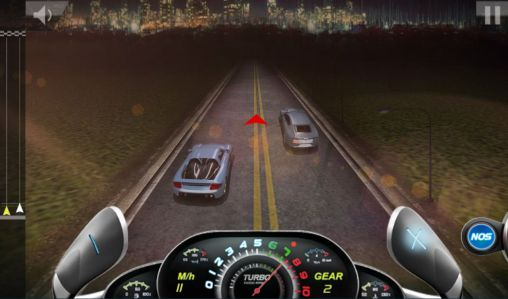 Screenshots of the Drag race 3D 2: Supercar edition for Android tablet, phone.