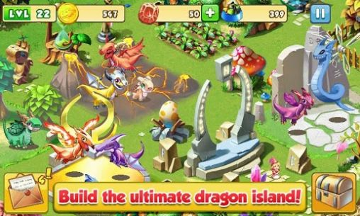 Screenshots of the Dragon mania for Android tablet, phone.