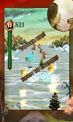 Screenshots of the Dragon Raid for Android tablet, phone.