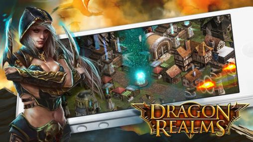 Screenshots of the Dragon realms for Android tablet, phone.