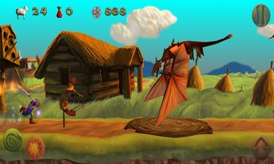 Screenshots of the Dragon & Shoemaker for Android tablet, phone.