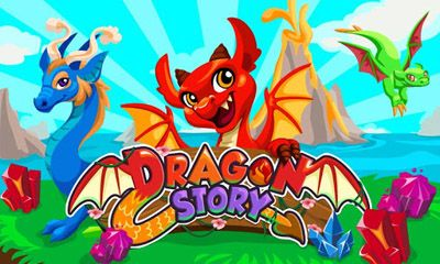 Screenshots of the Dragon Story for Android tablet, phone.