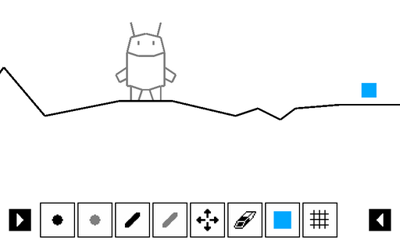 Screenshots of the Draw Rider for Android tablet, phone.
