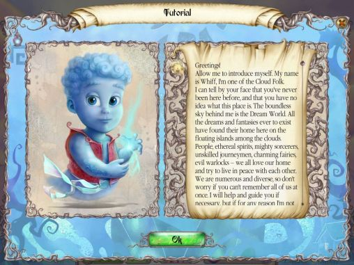 Screenshots of the Dream: Hidden adventure for Android tablet, phone.