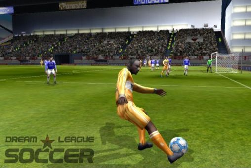 Screenshots of the Dream league: Soccer for Android tablet, phone.