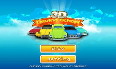 Screenshots of the Driving School 3D for Android tablet, phone.