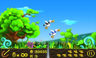 Screenshots of the Duck Hunt Super for Android tablet, phone.