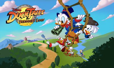Screenshots of the DuckTales: Scrooge's Loot for Android tablet, phone.