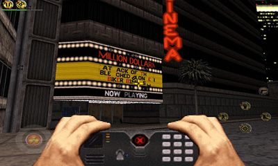Screenshots of the Duke Nukem 3D for Android tablet, phone.