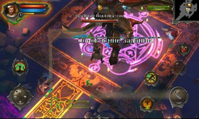 Screenshots of the Dungeon Hunter 4 for Android tablet, phone.