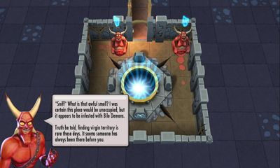 Screenshots of the Dungeon keeper for Android tablet, phone.