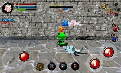 Screenshots of the Dungeon & Knight Plus for Android tablet, phone.