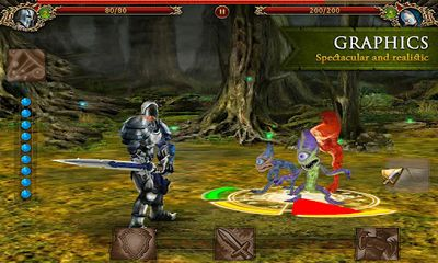 Screenshots of the Juggernaut: Revenge of Sovering for Android tablet, phone.