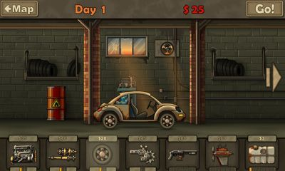 Screenshots of the Earn to Die for Android tablet, phone.