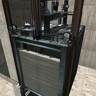Screenshots of the Elevator simulator 3D for Android tablet, phone.
