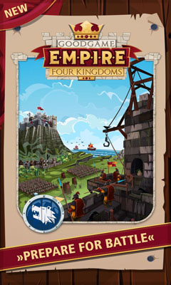 Screenshots of the Empire Four Kingdoms for Android tablet, phone.