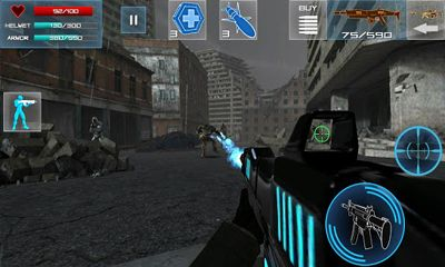 Screenshots of the Enemy Strike for Android tablet, phone.
