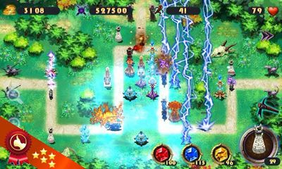 Screenshots of the Epic Defence for Android tablet, phone.