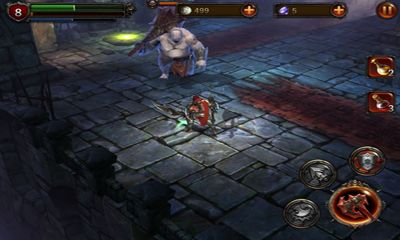 Screenshots of the Eternity Warriors 2 for Android tablet, phone.