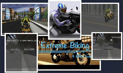 Screenshots of the Extreme Biking 3D for Android tablet, phone.