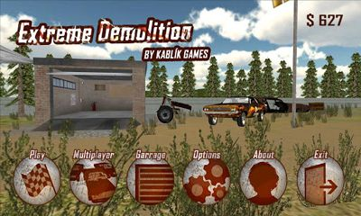 Screenshots of the Extreme Demolition for Android tablet, phone.