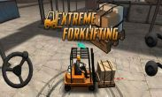 In addition to the game 8 ball pool for Android phones and tablets, you can also download Extreme Forklifting for free.