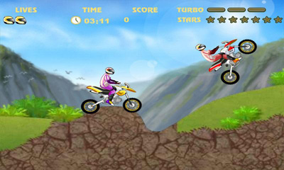 Screenshots of the Extreme Racing  Racing Moto for Android tablet, phone.