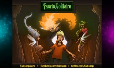 Screenshots of the Faerie Solitaire HD for Android tablet, phone.