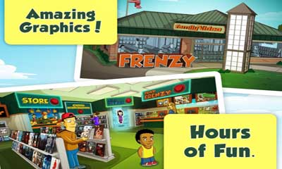 Screenshots of the Family Video Frenzy for Android tablet, phone.
