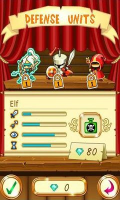 Screenshots of the Fantasy Kingdom Defense for Android tablet, phone.