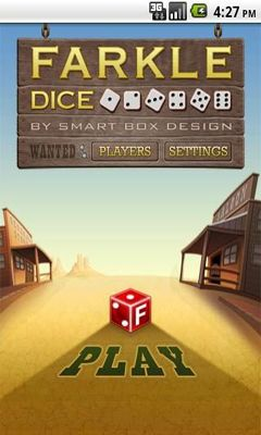Screenshots of the Farkle Dice for Android tablet, phone.