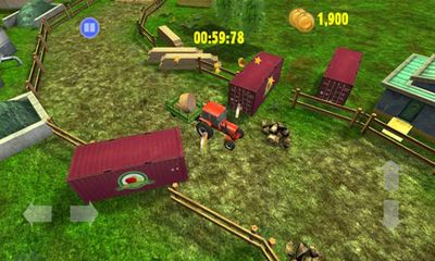 Screenshots of the Farm Driver Skills competition for Android tablet, phone.