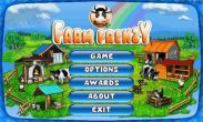 In addition to the game Real racing 3 for Android phones and tablets, you can also download Farm Frenzy for free.