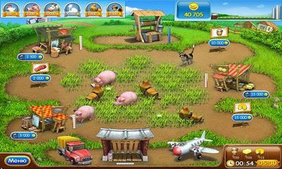 Screenshots of the Farm Frenzy 2 for Android tablet, phone.