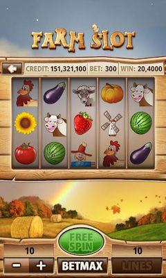 Screenshots of the Farm Slot for Android tablet, phone.