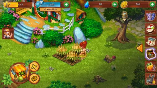Screenshots of the Farmdale for Android tablet, phone.